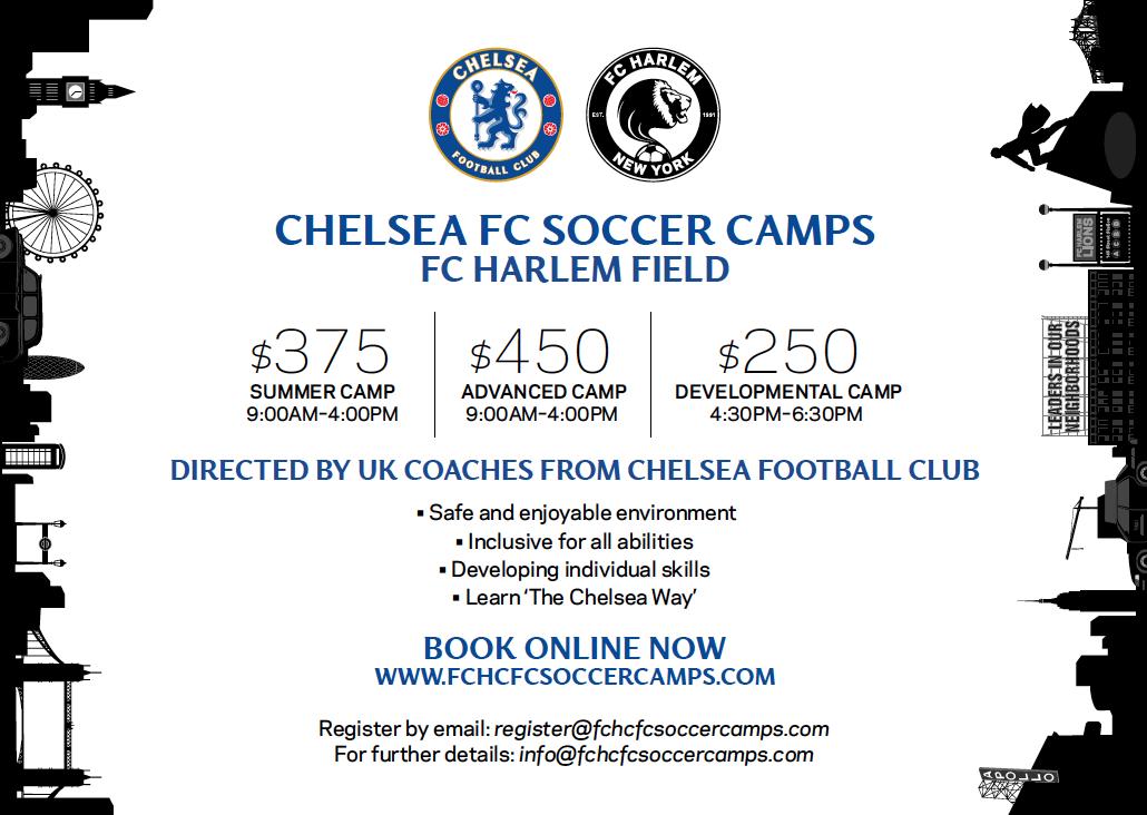 FCHarlemChelseaFCSummerCamps